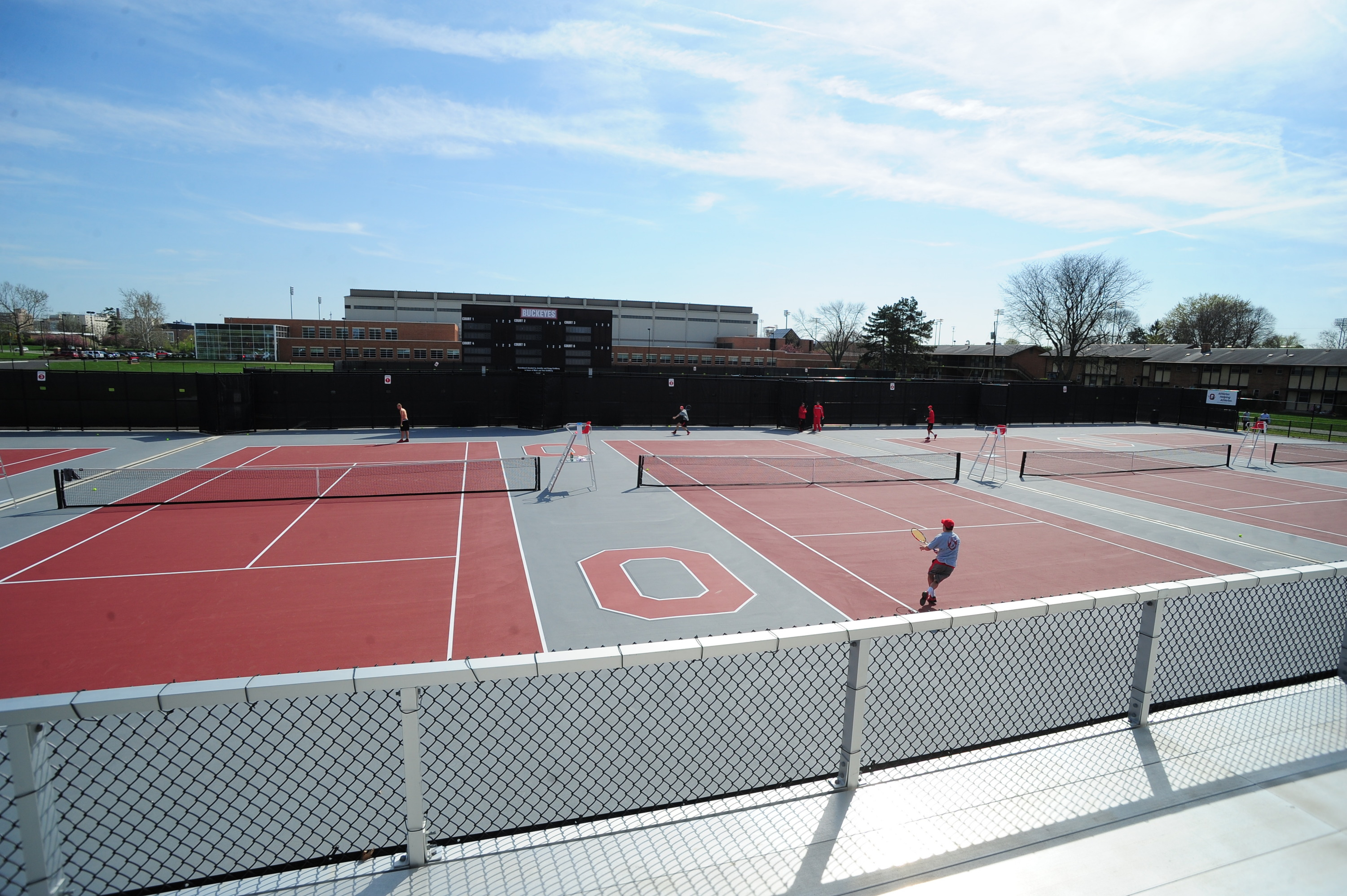Outdoor Varsity Tennis Courts