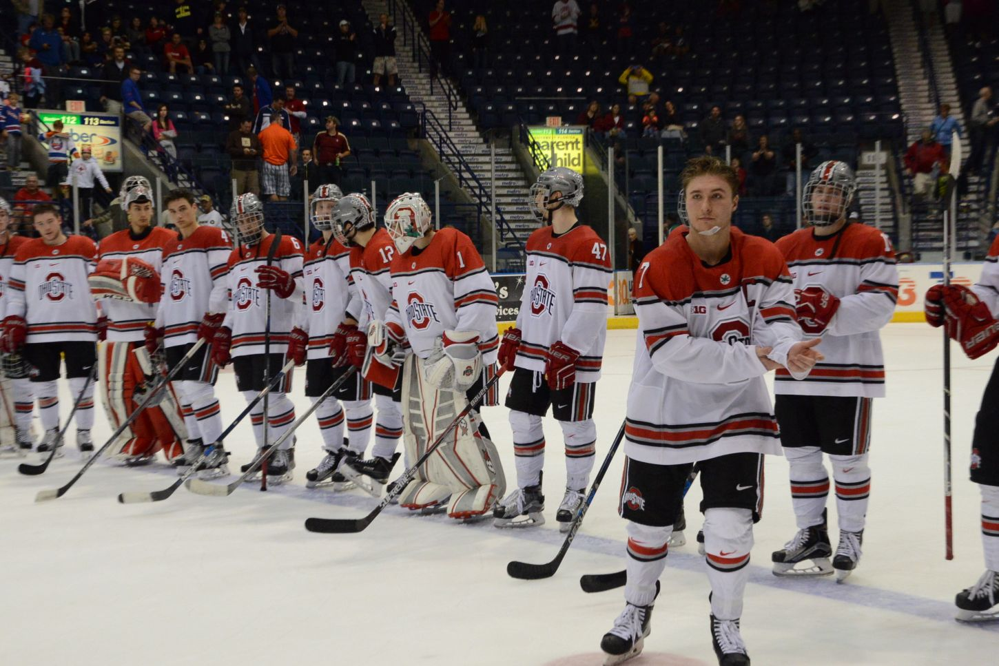 Ohio State wins 2015 Florida College Hockey Classic with 8-0 victory over Cornell