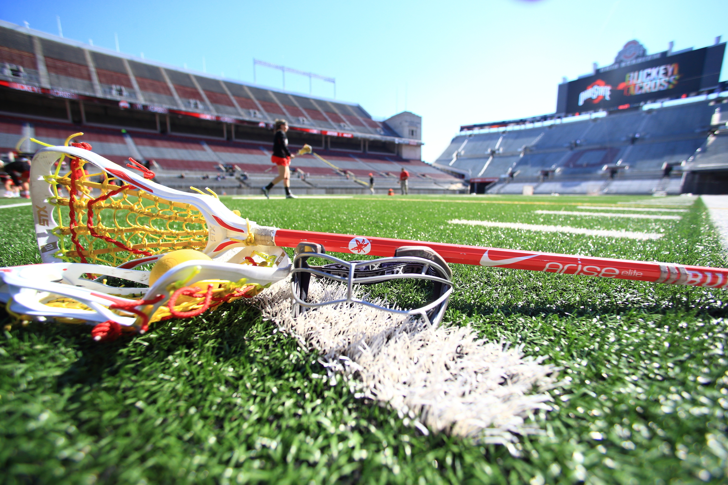 Ohio Stadium lacrosse stick