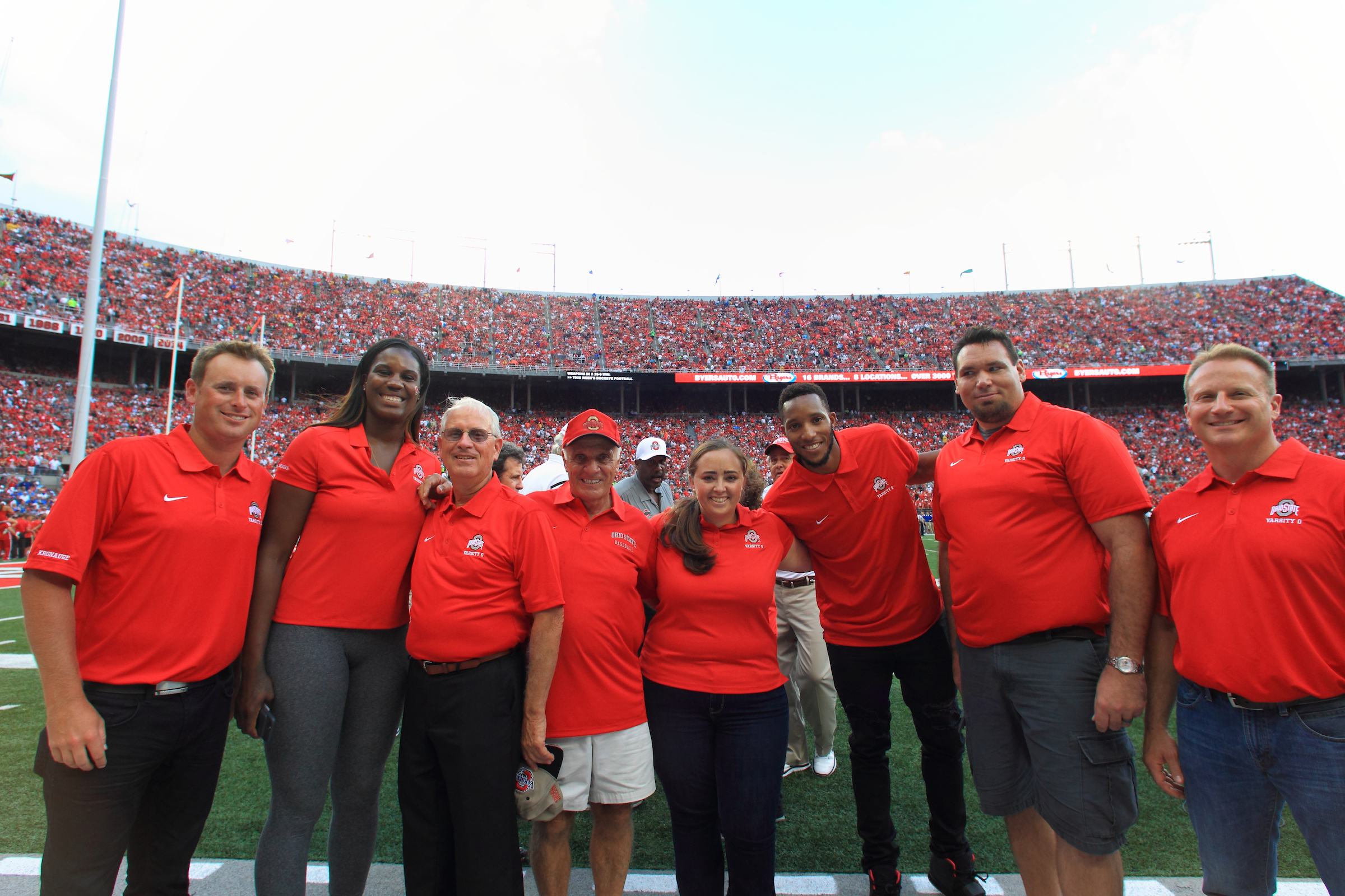 John Machado was inducted into the Ohio State Athletics Hall of Fame Friday, Sept. 9, 2016 at the Ohio Union.