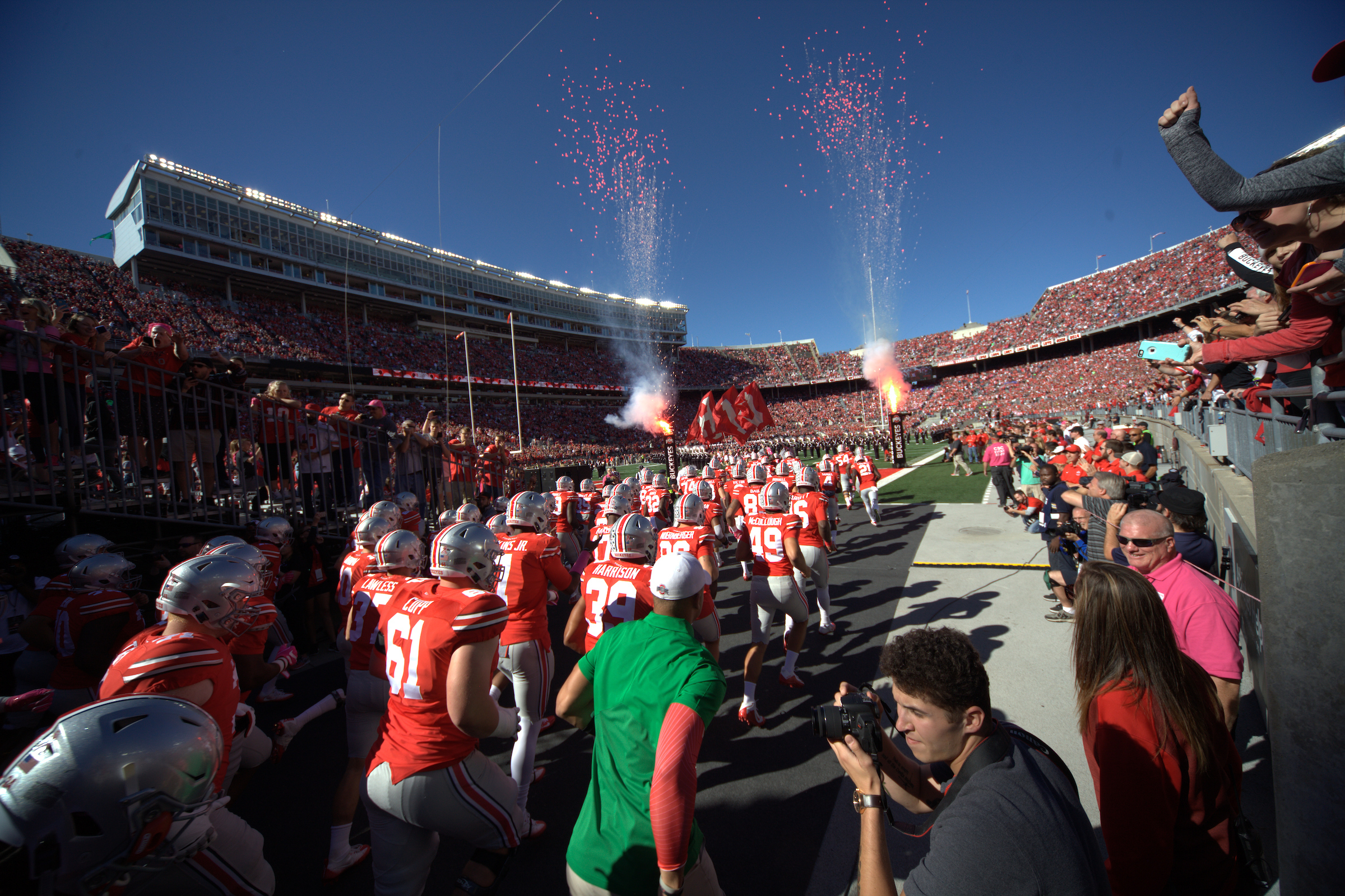 gameday info ohio stadium ohio state buckeyes