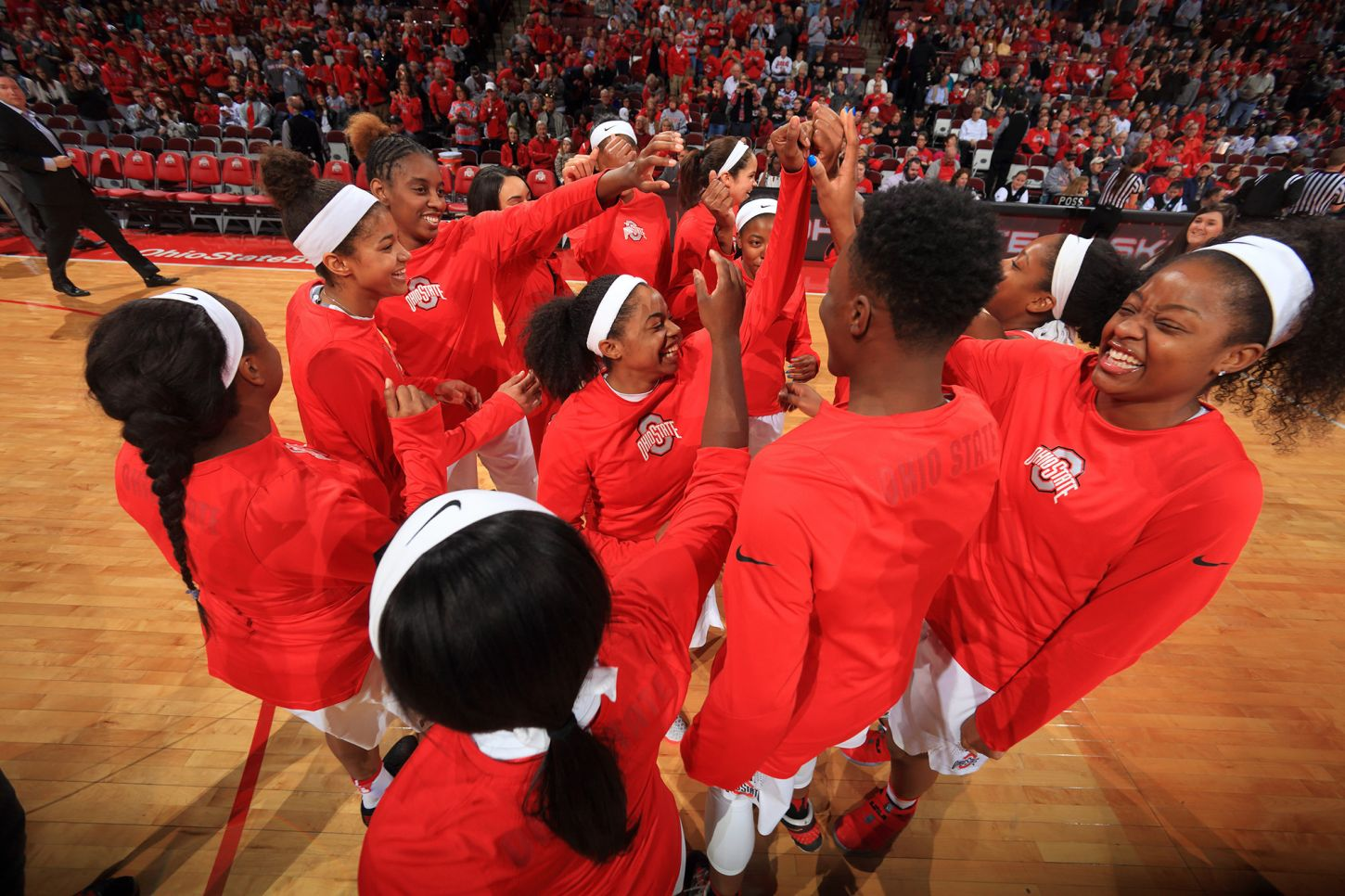 The Ohio State University women's Basketball team defeated Michigan 96-87 at home. January 7, 2017(Photo by Walt Middleton Photography 2016)