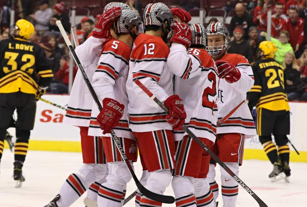 Buckeyes downed Arizona State 6-1 in series opener (photo credit Ric Kruszynski)