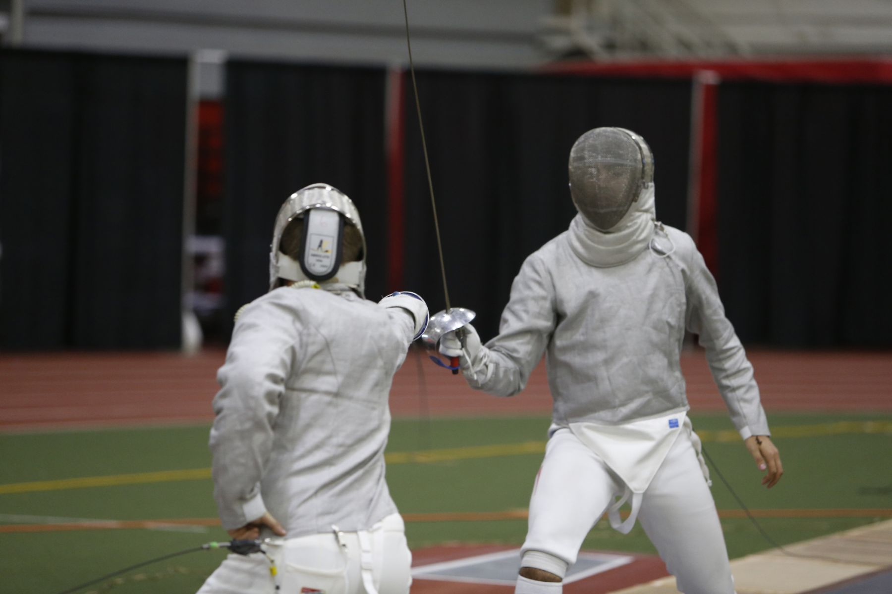 Ohio State fencing meet Sunday, Oct. 16, 2016, in Columbus, Ohio. (Photo/Jay LaPrete)