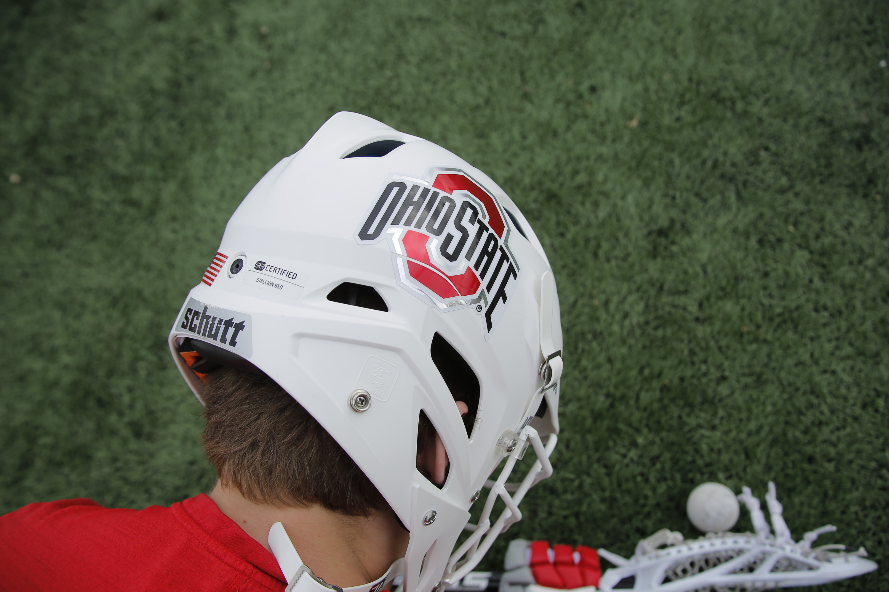 Ohio State will debut a white helmet for the first time this weekend at the Midwest Lacrosse Classic in Detroit.