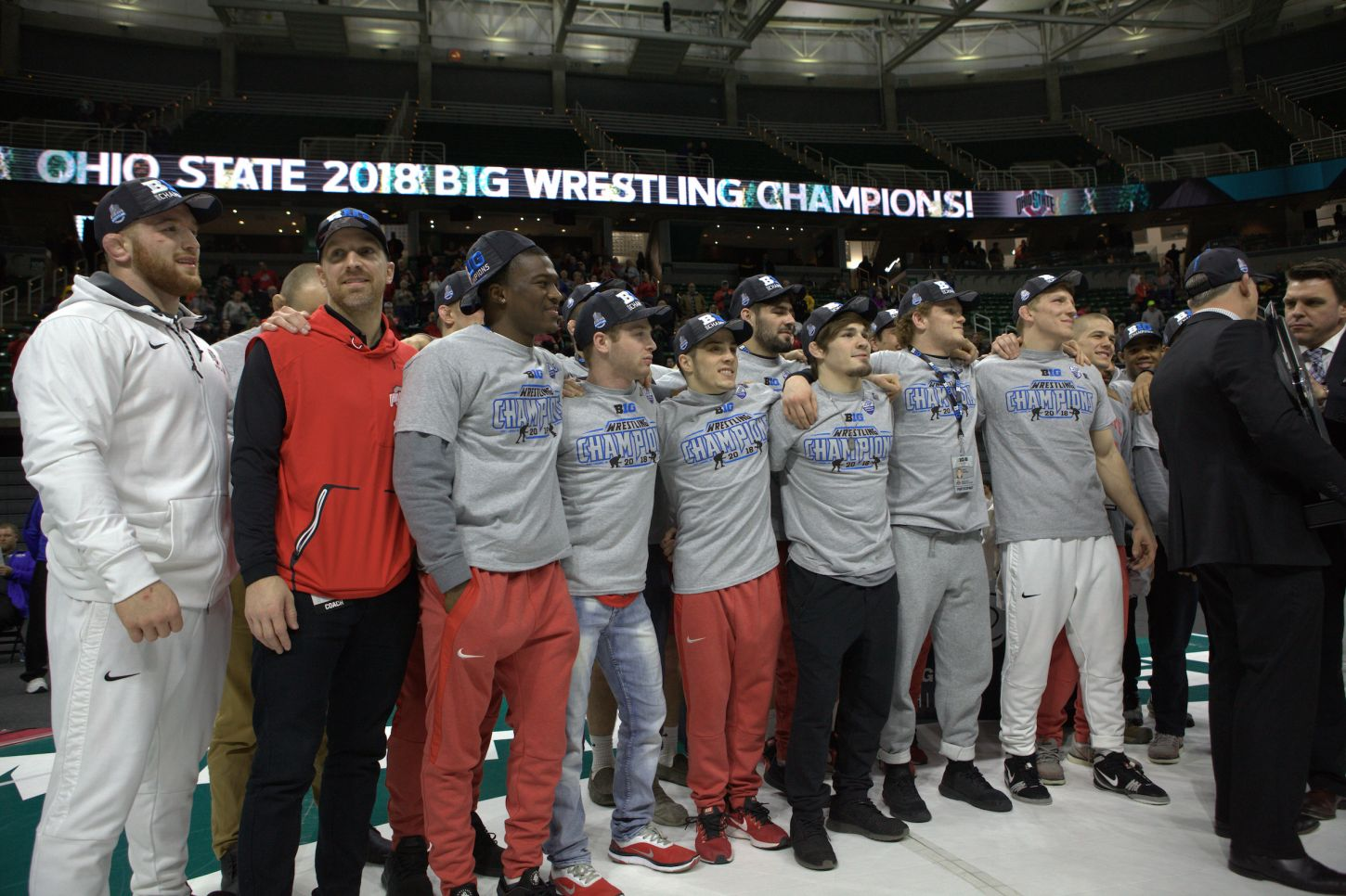 2018 Big Ten Wrestling Champions