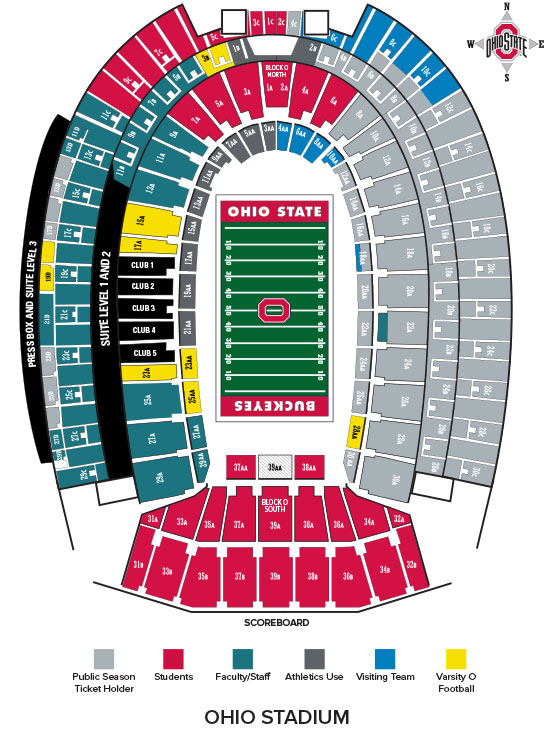 Seat Selection Process Ohio State Buckeyes