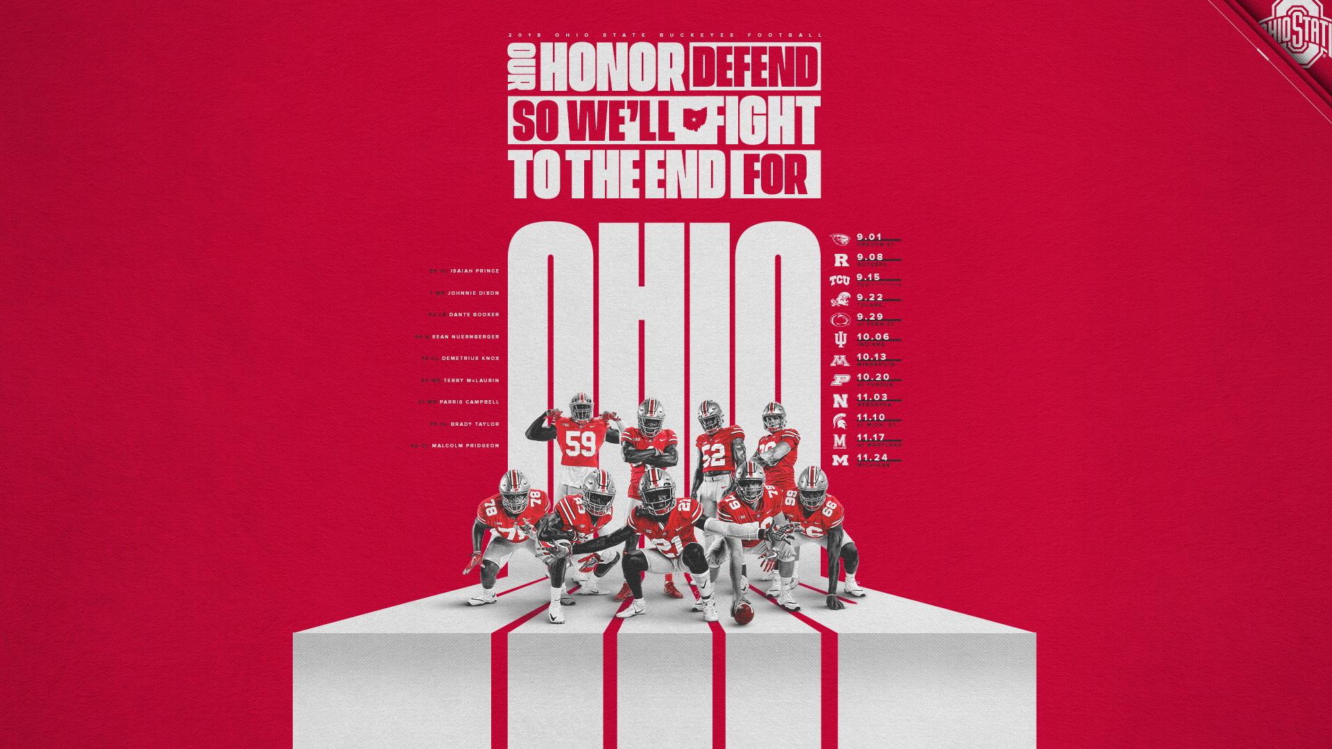 Wallpaper (1920×1080) · Ohio State Buckeyes