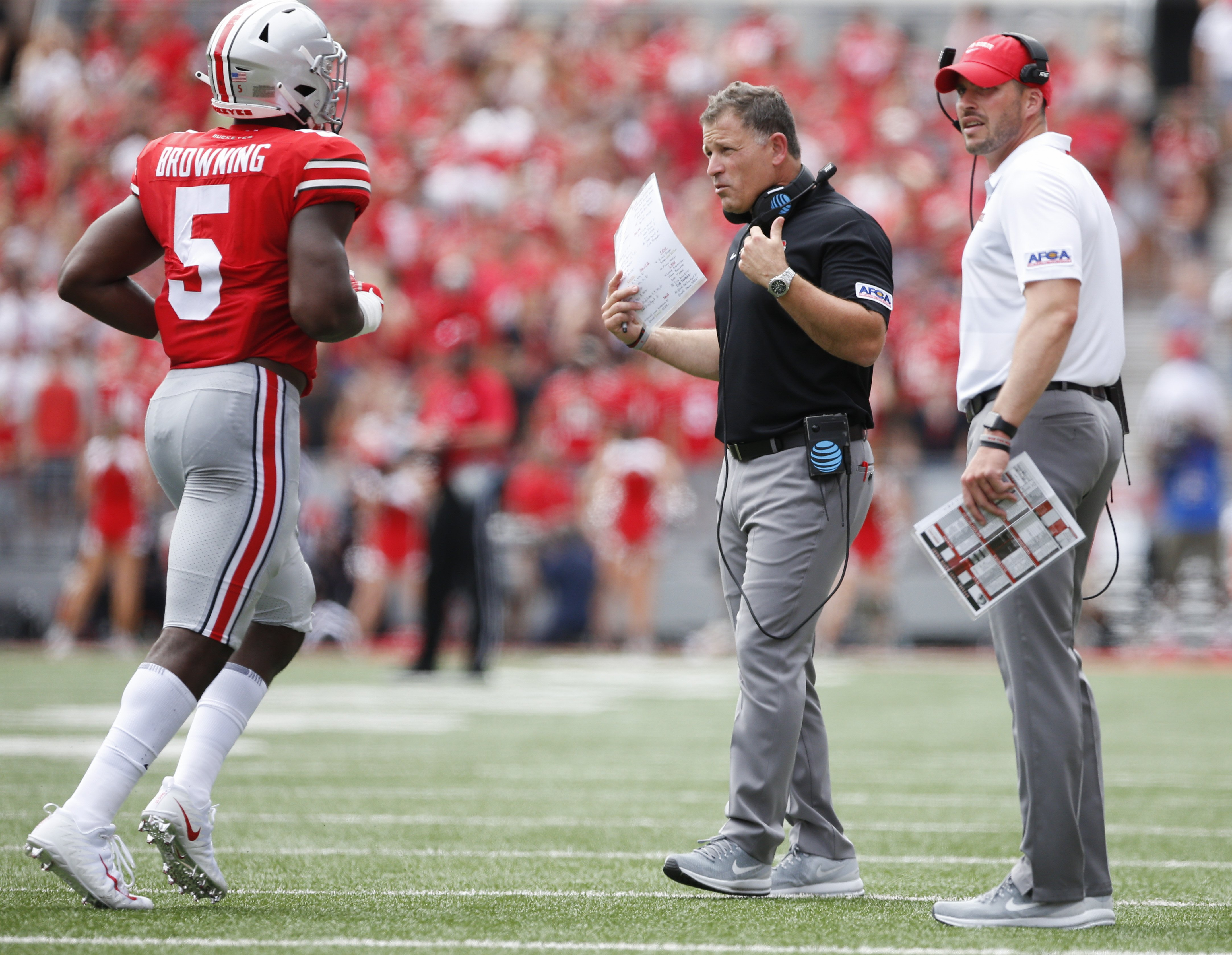 Notes To Know Ohio State Vs Rutgers Ohio State Buckeyes