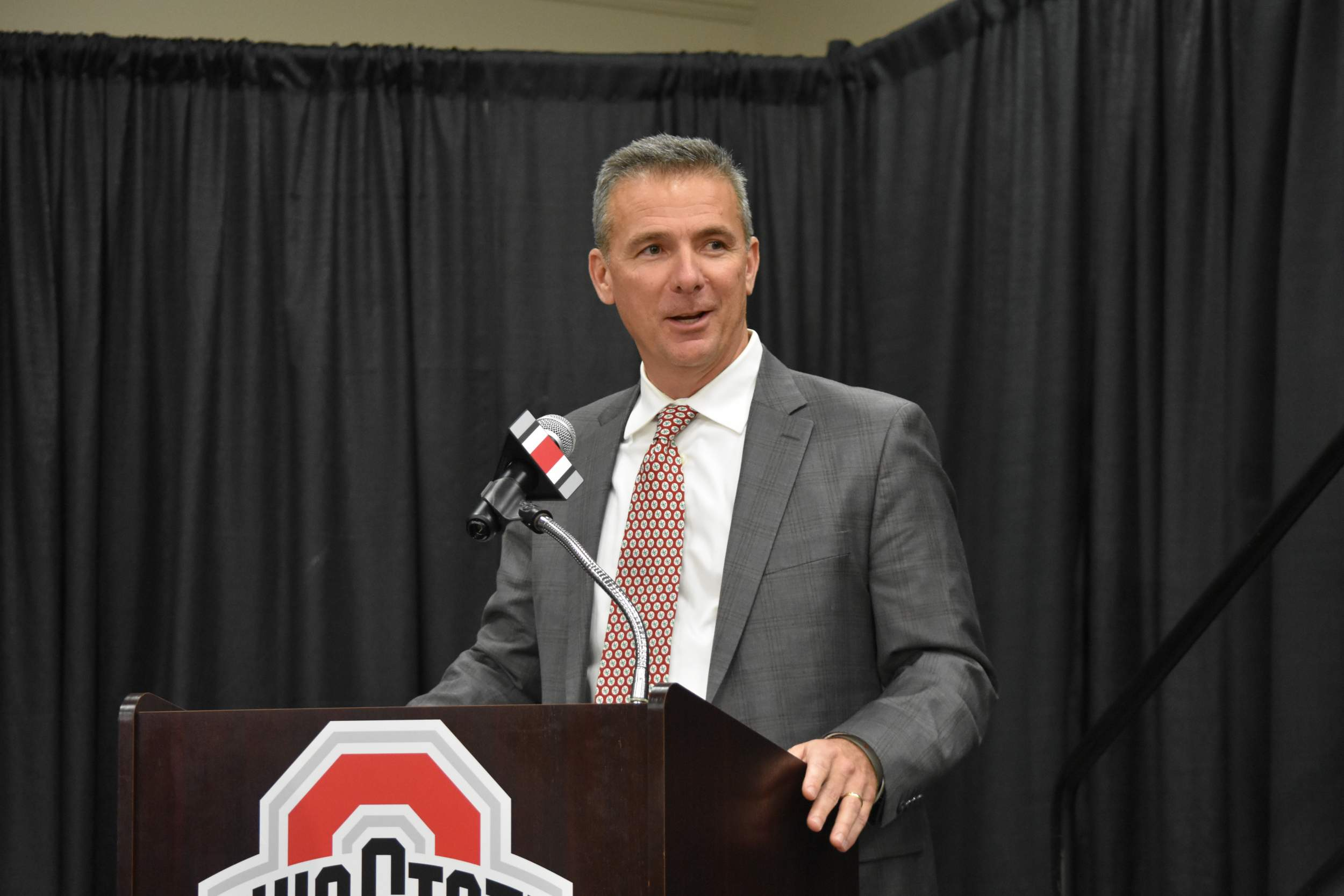 ffd090fc56b Meyer, the only coach to win national championships coaching teams in two  different conferences, is completing his seventh season as Ohio State head  coach ...